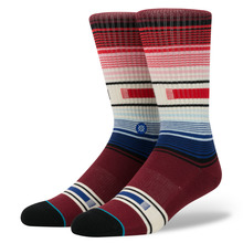 View the Stance Hatchets Sock - Burgundy from the Socks clothing range online today from Boarderline
