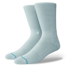 View the Stance Icon Socks - Pastel Blue from the Socks clothing range online today from Boarderline