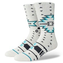 View the Stance Leckey Socks - White from the Socks clothing range online today from Boarderline