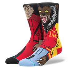 View the Stance Michael Jackson Socks - Red from the Socks clothing range online today from Boarderline