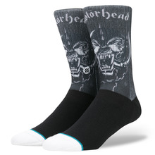 View the STANCE MOTORHEAD SOCK - BLACK from the Socks clothing range online today from Boarderline