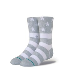 View the Stance The Fourth Socks - Grey from the Socks clothing range online today from Boarderline