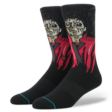 View the Stance Thriller Socks - Black from the Socks clothing range online today from Boarderline