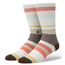 View the STANCE TOPANGA SOCK - RED from the Socks clothing range online today from Boarderline