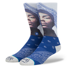 View the Stance Whats My Name 'Snoop' Socks - Blue from the Socks clothing range online today from Boarderline