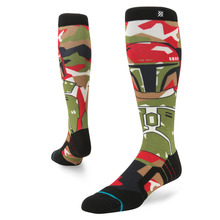 View the Stance X Star Wars Snowboard Socks - Boba Fett from the Mens Socks clothing range online today from Boarderline
