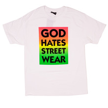 View the The Hundreds God Hates Streetwear T-Shirt - White from the T-Shirts clothing range online today from Boarderline