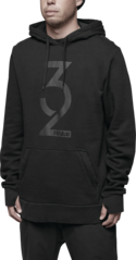 View the Thirty Two Marquee Hood - Black from the Fleece/Layering clothing range online today from Boarderline