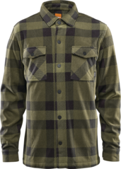 View the Thirty Two Rest Stop Fleece Shirt - Army from the Fleece/Layering clothing range online today from Boarderline