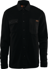 View the Thirty Two Rest Stop Fleece Shirt - Black from the Fleece/Layering clothing range online today from Boarderline