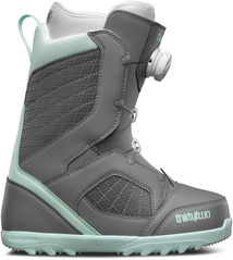 View the Thirty Two Womens STW Boa Boot - Grey from the Womens Snowboard Boots clothing range online today from Boarderline