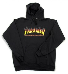 View the Thrasher BBQ Hood - Black from the Hoods and Crews clothing range online today from Boarderline