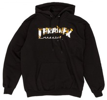 View the Thrasher Intro Burner Hood - Black from the Hoods and Crews clothing range online today from Boarderline