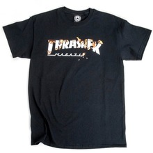 View the Thrasher Intro Burner T-Shirt - Black from the T-Shirts clothing range online today from Boarderline