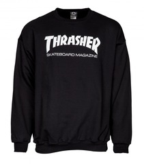 View the Thrasher Mag Logo Crew Sweat - Black from the Hoods and Crews clothing range online today from Boarderline