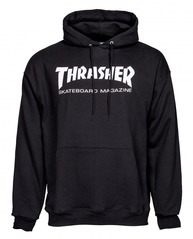View the Thrasher Mag Logo Hood - Black from the Hoods and Crews clothing range online today from Boarderline