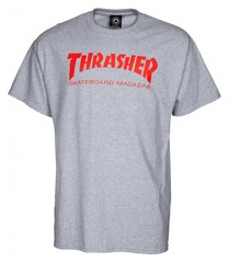 View the Thrasher Mag T-Shirt - Heather Grey from the T-Shirts clothing range online today from Boarderline
