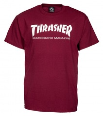 View the Thrasher Mag T-Shirt - Maroon from the T-Shirts clothing range online today from Boarderline