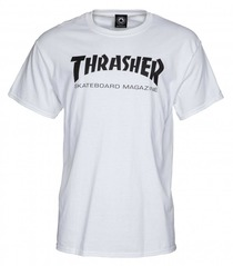 View the Thrasher Mag T-Shirt - White from the T-Shirts clothing range online today from Boarderline