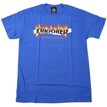 View the Thrasher Ripped T-Shirt - Royal from the T-Shirts clothing range online today from Boarderline