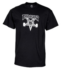 View the Thrasher Skategoat T-Shirt - Black from the T-Shirts clothing range online today from Boarderline