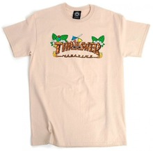 View the Thrasher Tiki T-Shirt - Sand from the T-Shirts clothing range online today from Boarderline