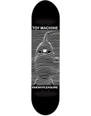 View the Toy Machine Know Pleasure Deck - 8.25 from the Decks clothing range online today from Boarderline
