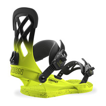 View the Union Contact Pro Snowboard Bindings - Volt Yellow from the Mens clothing range online today from Boarderline