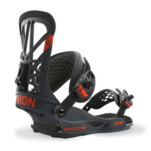View the Union Flite Pro Snowboard Bindings - Dark Grey from the Mens clothing range online today from Boarderline