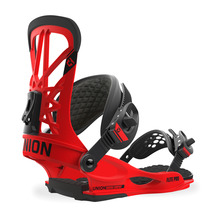 View the Union Flite Pro Snowboard Bindings - Red from the Mens clothing range online today from Boarderline
