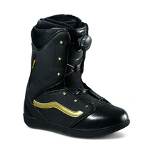 View the Vans Women's Encore - Black/Gold from the Womens Snowboard Boots clothing range online today from Boarderline