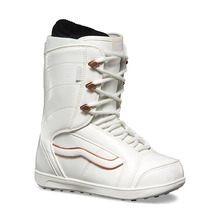 View the Vans Womens Hi Standard - White/Copper from the Womens Snowboard Boots clothing range online today from Boarderline