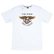 View the Volcm X Anti Hero T-Shirt - White from the T-Shirts clothing range online today from Boarderline