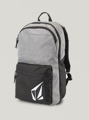 View the Volcom Academy Backpack - Black/Grey from the Backpacks clothing range online today from Boarderline