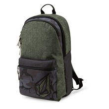 View the Volcom Academy Backpack - Military from the Backpacks clothing range online today from Boarderline