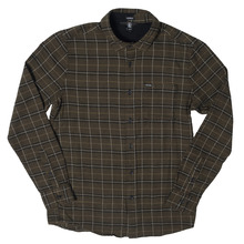 View the Volcom Brodus Shirt - Military from the Shirts clothing range online today from Boarderline