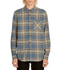 View the VOLCOM CADEN PLAID FLANNEL - INDIGO from the Shirts clothing range online today from Boarderline