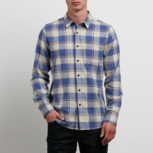 View the Volcom Caden Shirt - Clay from the Shirts clothing range online today from Boarderline