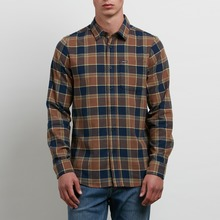 View the Volcom Caden Shirt - Indigo from the Shirts clothing range online today from Boarderline