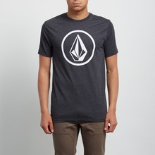 View the Volcom Circle Stone T-Shirt - Heather Black from the T-Shirts clothing range online today from Boarderline
