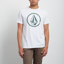 View the Volcom Circle Stone T-Shirt - White from the T-Shirts clothing range online today from Boarderline