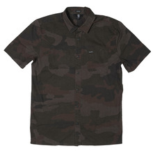 View the Volcom Clutch Shirt - Army from the Shirts clothing range online today from Boarderline