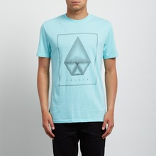 View the Volcom Concentric T-Shirt - Aqua from the T-Shirts clothing range online today from Boarderline