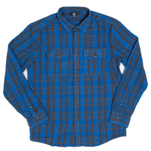 View the Volcom Copeland Shirt - Blue from the Shirts clothing range online today from Boarderline