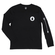 View the Volcom Copper Long Sleeve - Black from the T-Shirts clothing range online today from Boarderline