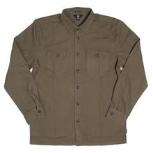 View the Volcom Crawford Shirt - Military from the Shirts clothing range online today from Boarderline