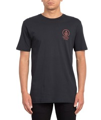 View the VOLCOM CROWD CONTROL T-SHIRT - BLACK from the T-Shirts clothing range online today from Boarderline