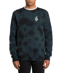 View the VOLCOM DEADLY STONE CREW - EVERGREEN from the Hoods and Crews clothing range online today from Boarderline