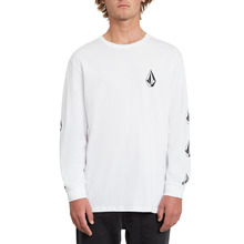 View the Volcom Deadly Stone Longsleeve - White from the T-Shirts clothing range online today from Boarderline