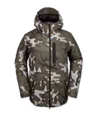 View the Volcom Deadly Stones Insulated Jacket - GI Camo from the Mens Snow Jackets clothing range online today from Boarderline